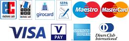 Bezahl-Logos